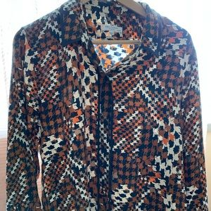 Equipment France Silk Blouse L/XL this Year Coll